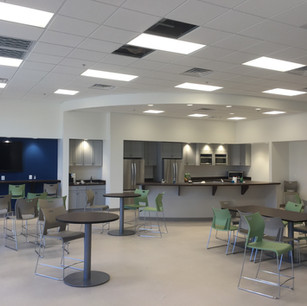 13,000 + sq. ft. office expansion including break room and offices.