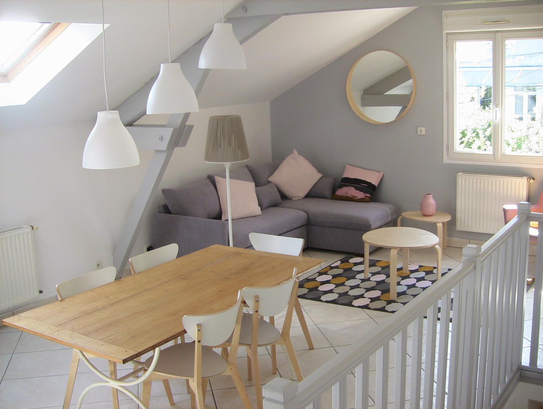 Location saisonnière appartement centre Tours 6 personnes