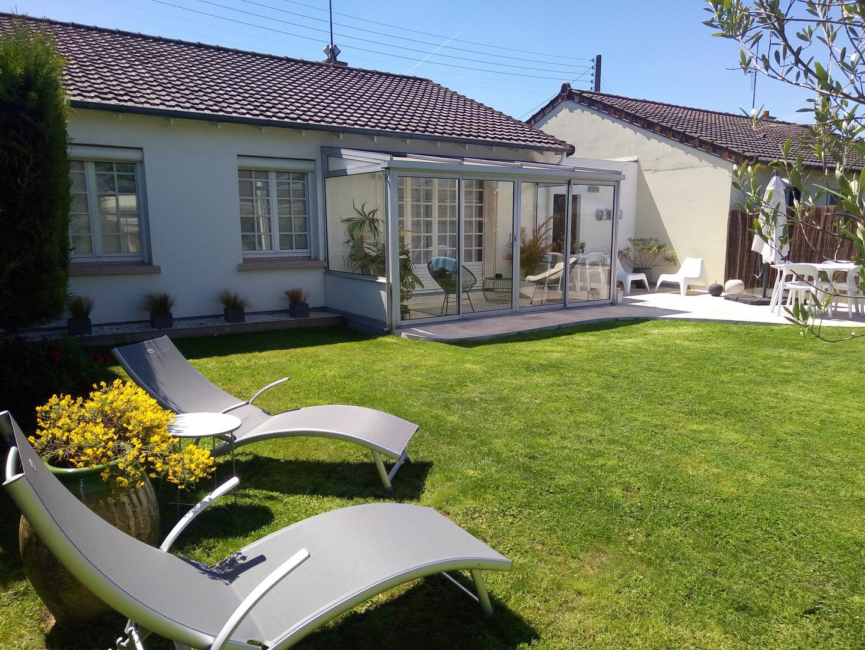 Location saisonnière maison avec jardin Touraine 4 personnes