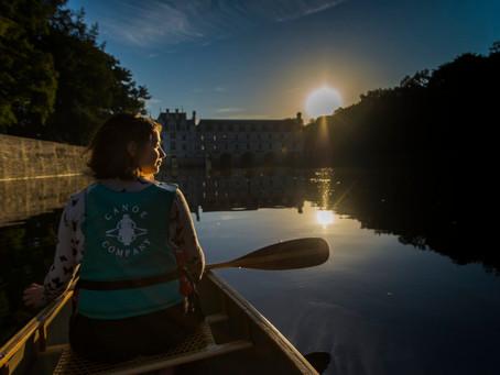 Découvrez le château de Chenonceau en canoë sur le Cher avec Canoë Compagnie