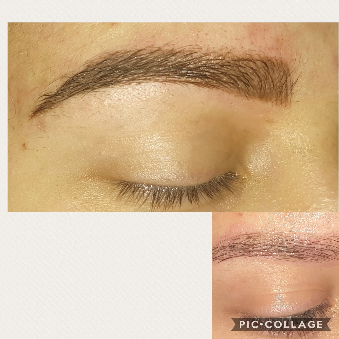 Powder Brows, Before and after