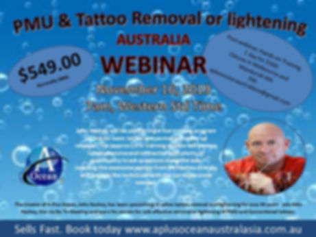 A Plus Ocean Tattoo Removal Training Web