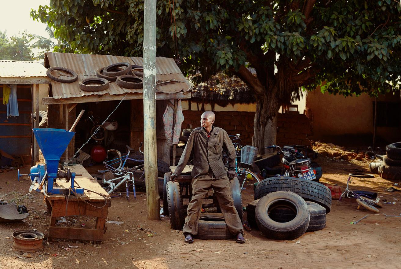 The tyreman never tires