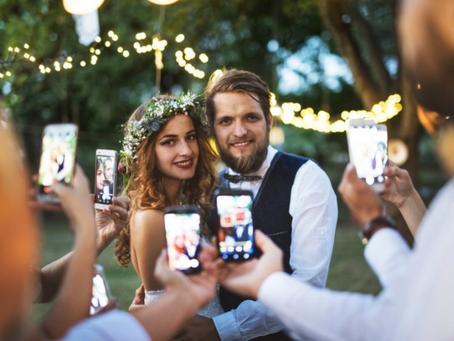 Unplugged Wedding - NO PHONES!!!
