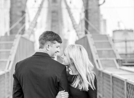 DUMBO Brooklyn Couples Photographer - Caroline & Jason