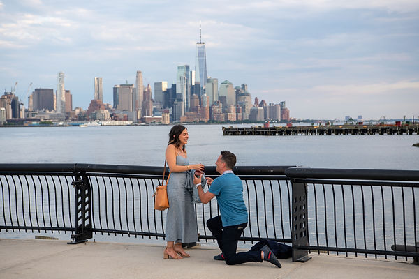 Hoboken Engagement Shoot Photographer