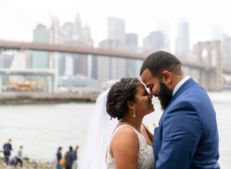 Intimate Family Brooklyn Wedding in DUMBO!