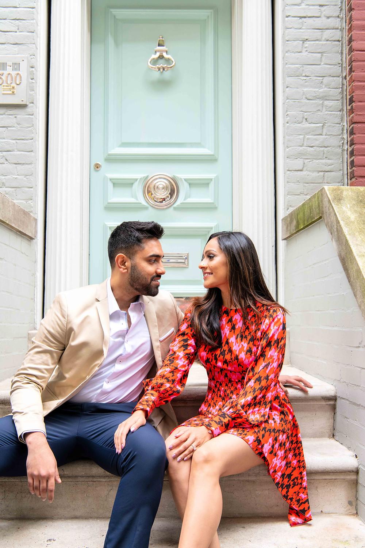 New York SoHo Engagement Photographers