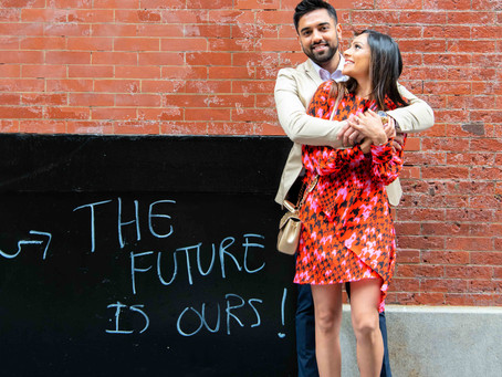 NYC Engagement Shoot in SoHo