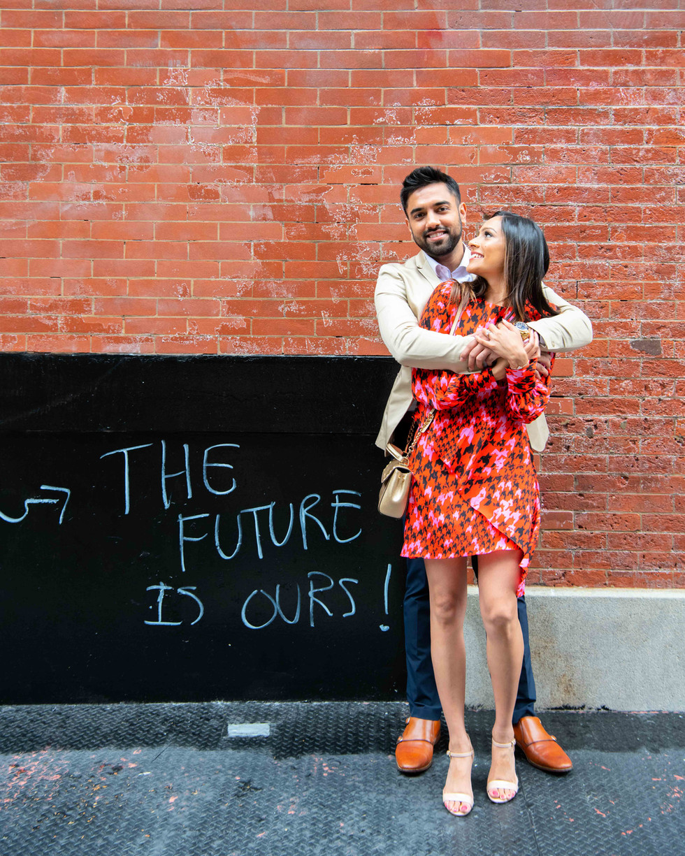 New York City Engagement Photographers