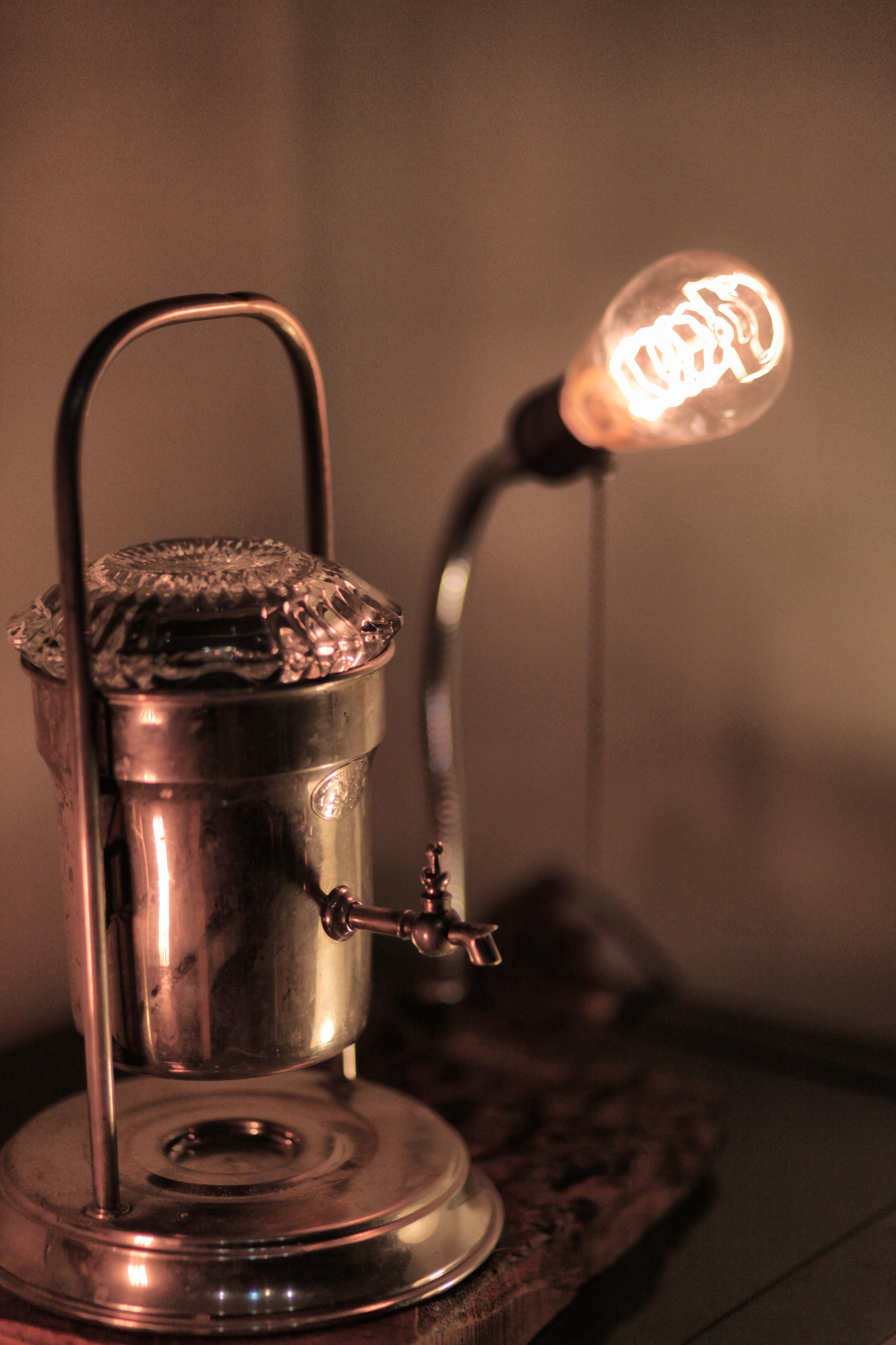 Kahve makinası- Aydınlatma Tasarım