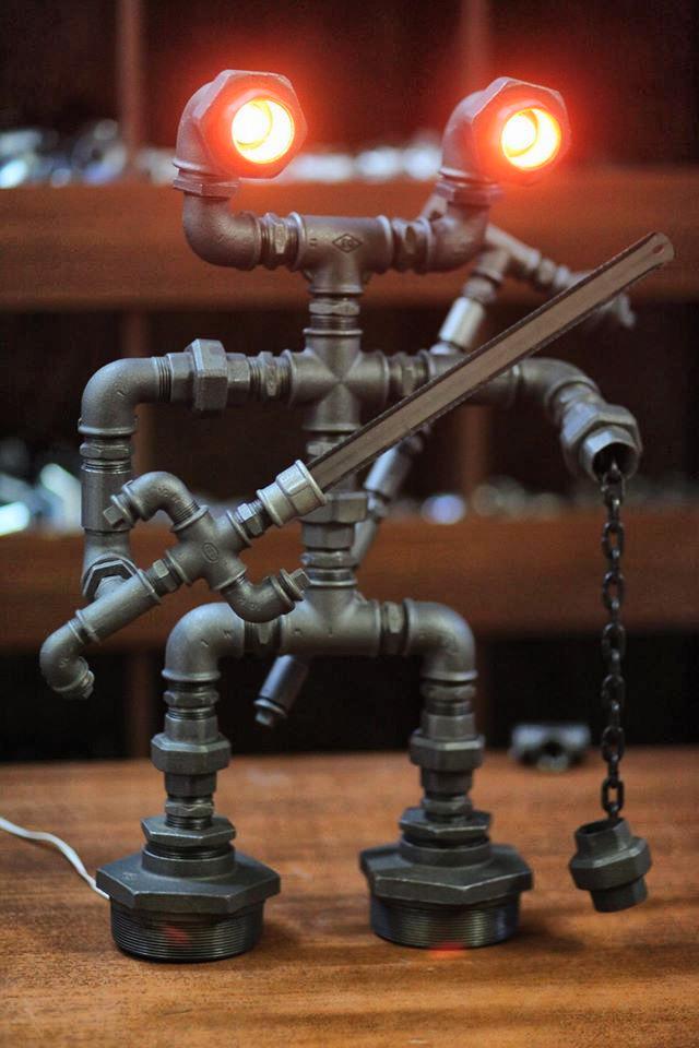 Robot- Tasarım Aydınlatma