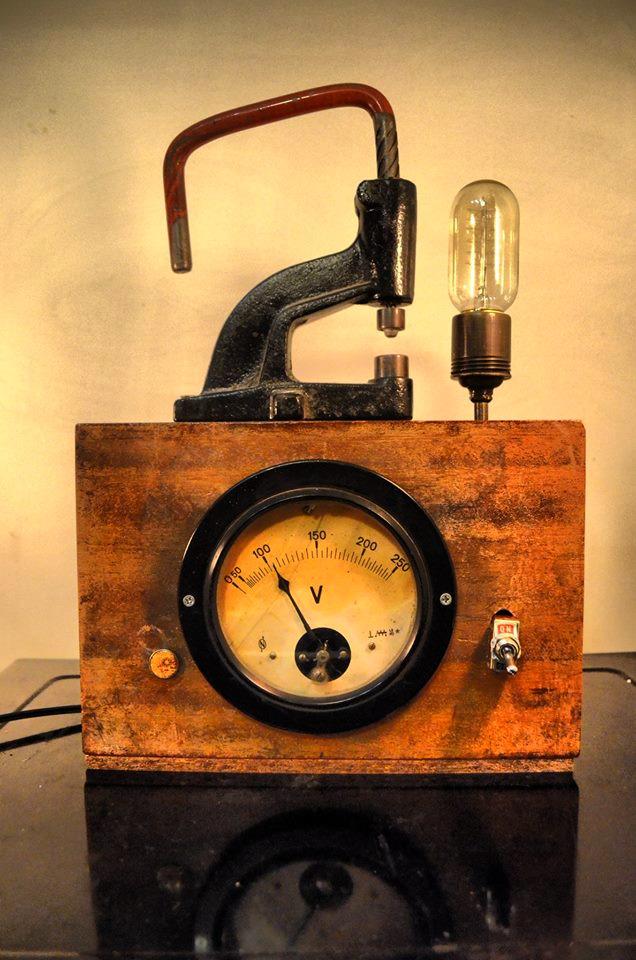 Voltmetre- Tasarım Aydınlatma