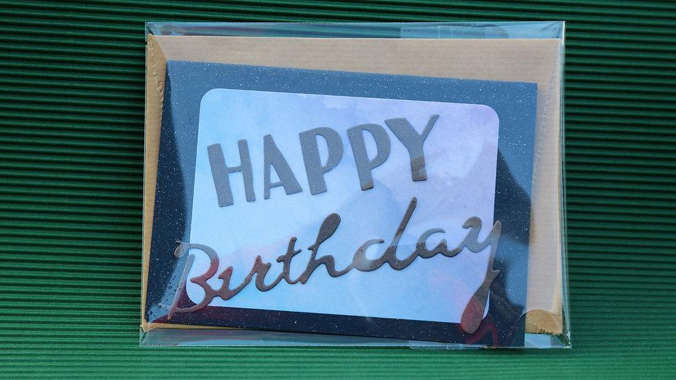 Wenskaarten Happy Birthday