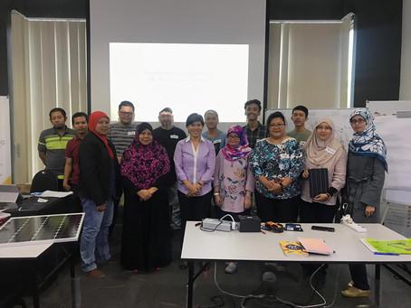 Another success Professional Solar Training in Kuala Lumpur, Malaysia
