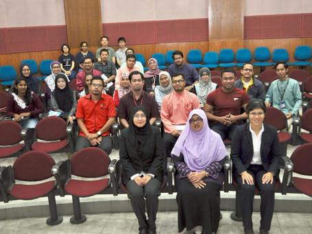 Intellectual Property talk at The National University of Malaysia (UKM)