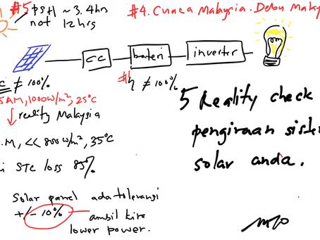 Langkah 3 berapa solar panel diperlukan?