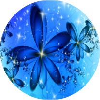 Flor Helada - Arte Fractal