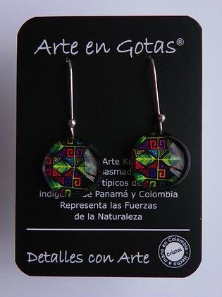 Pendientes Largos - Plata de Ley (Ref.046.2)