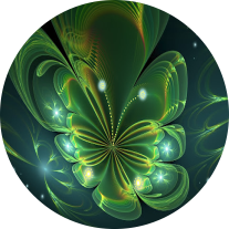 Flor Cósmica - Arte Fractal