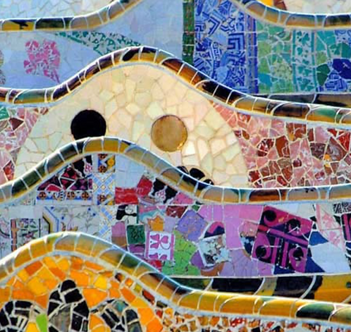 Bancada - Park Güell (composición)