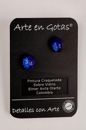 Pendientes tipo Mini Botón - Plata de Ley (Ref.AC)