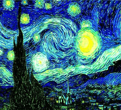 Noche Estrellada con Ciprés (extracto)