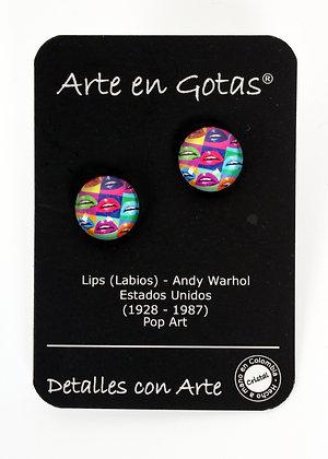 Pendientes Botón pequeños - Plata de Ley (Ref.045)
