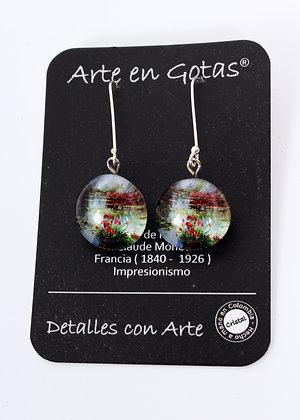 Pendientes Largos - Plata de Ley (Ref.050)