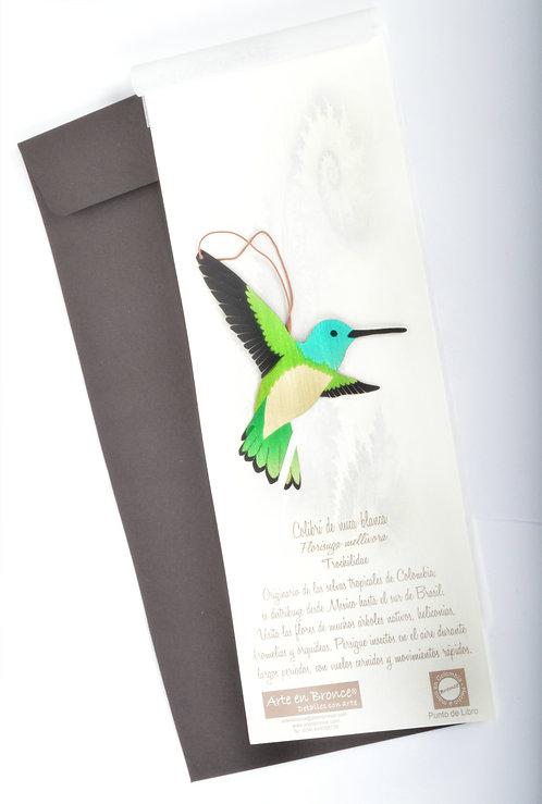 Colibrí de nuca blanca