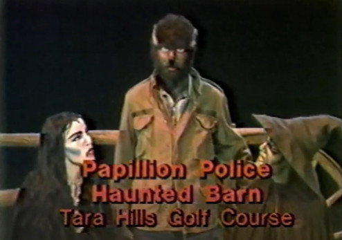 Haunted Barn TV Commercial 1983