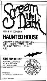 1988 Scream in the Dark Ad