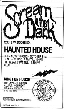 1988 Scream in the Dark Ad