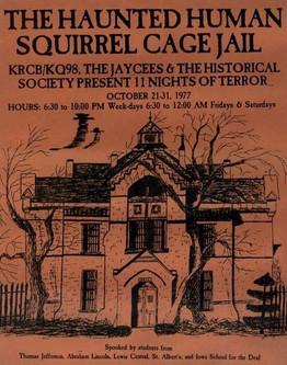 Haunted Jail Flyer 1977