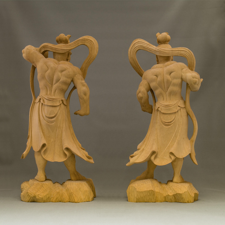 仁王像- 阿形像「金剛力士」吽形像「密迹力士」