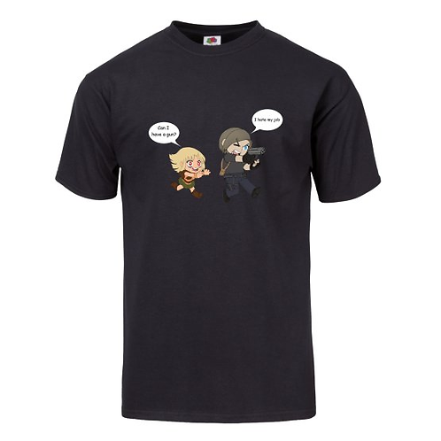 Chibi Leon and Ashley T-Shirt