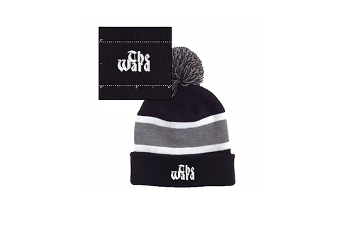 The Ward Beanie with palm palm
