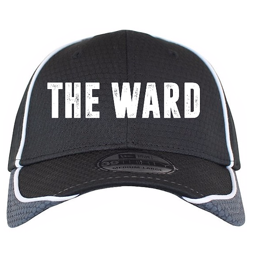 The Ward New Era® Stretch Fitted Hex Design Cap (Original logo)