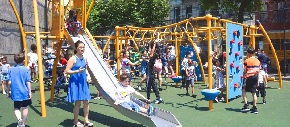 PS 19M: New Playground Opens in the East Village