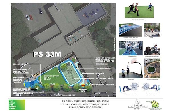 New Playground at PS 33M Breaks Ground