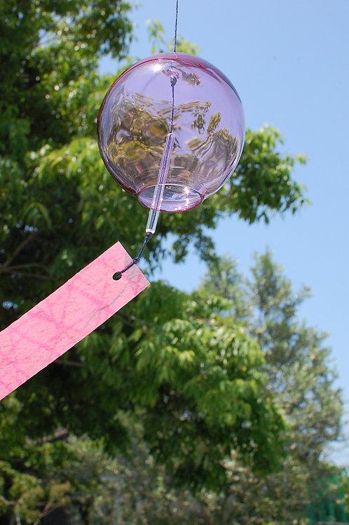 風鈴「ゆらぎ」ピンク Ⅰ