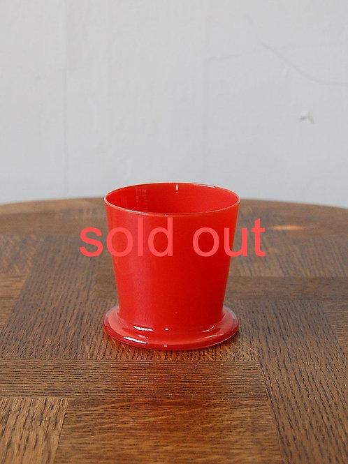dripper glass -ferrari red-