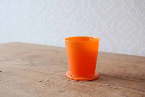 dripper glass -tangerine-