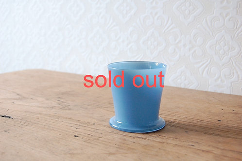 dripper glass -denim blue-