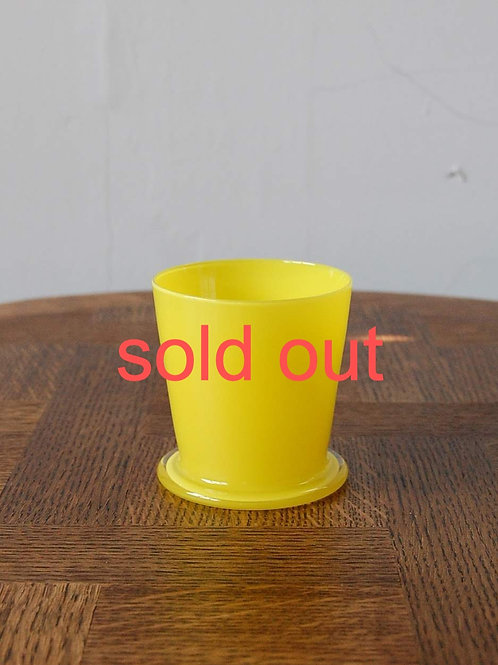 dripper glass -canary yellow-