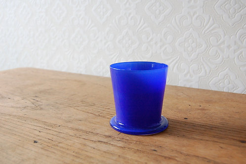 dripper glass -lapis blue-