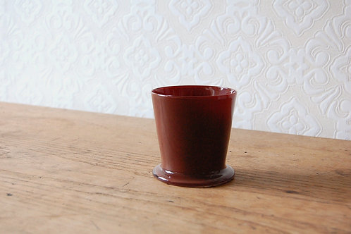dripper glass -chocolate-