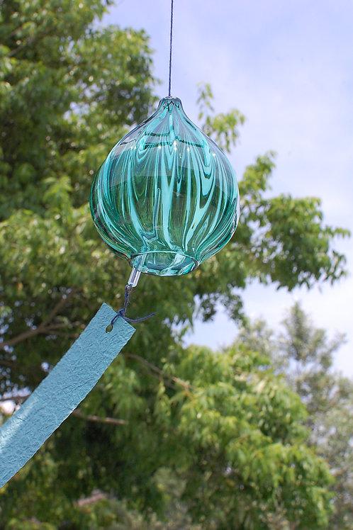 風鈴「しずく」緑 Ⅱ
