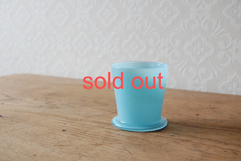 dripper glass -pale turquoise-