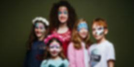 ציורי פנים לכל המשפחה